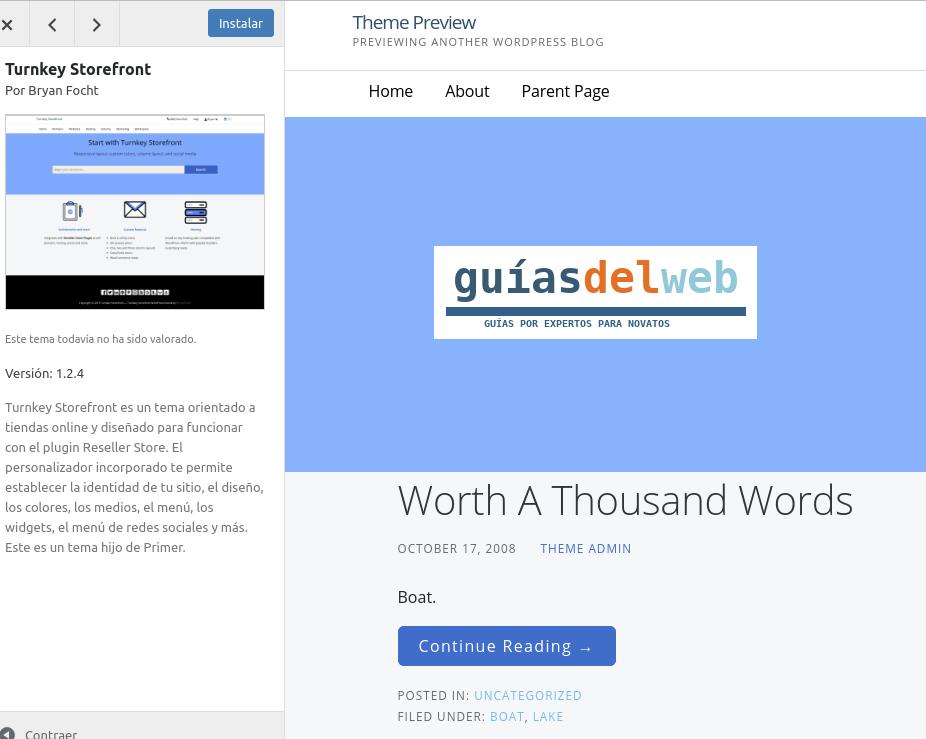 Cómo cambiar la plantilla en WordPress