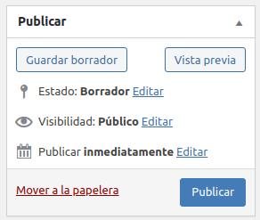 Como programar una entrada en WordPress