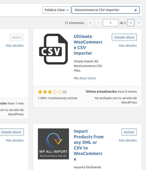 Cómo importar archivo .csv de productos en WooCommerce
