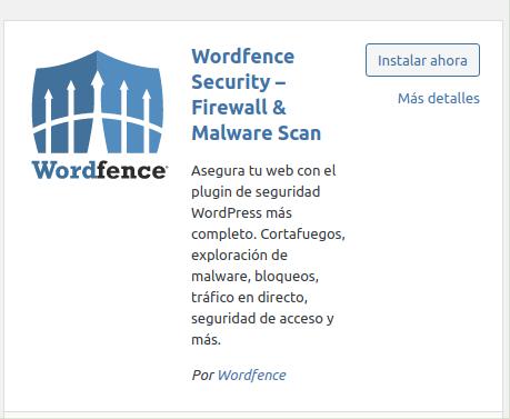 Cómo instalar y configurar un plugin antivirus en WordPress