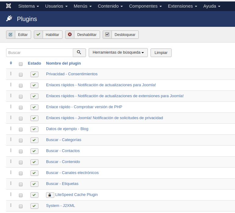 Cómo exportar un artículo en Joomla
