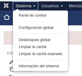 Cómo modificar las opciones SEO en Joomla