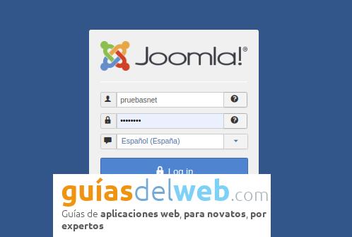 Cómo seleccionar la home en Joomla